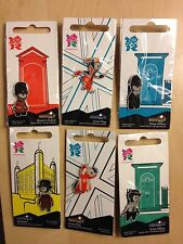 Official London 2012 Olympic Pins - Mascot Wenlock, Beefeater, Police officer