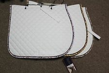 NEW Shedrow Couture Quilted Cotton All Purpose Saddle Pad - 2 Colors - Horse