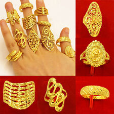 11 Different Design Stars Flower Butterfly Adjustable Open Finger Knuckle Ring A