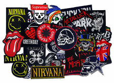 Sew Iron On Patch Embroidered Logo Music Rock Punk Band Heavy Metal WHOLESALE
