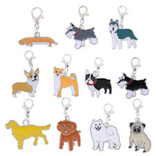 Pet Dogs Key Chain Rings Dog Lovers Keychain for Women Jewelry Charm Pendant
