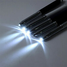 3 in 1 Touch Screen Stylus Ballpoint Pen With LED Flash Light For iPad Iphone BH