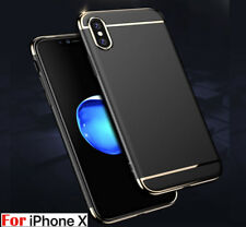 Luxury Ultra-thin Electroplate Bumper Skin Back Case Cover For Apple iPhone X 10