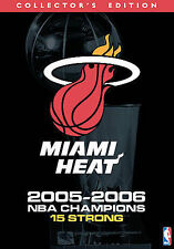 NBA Miami Heat 2005-2006 Champions Special Edition DVD 13-Disc Set NEW Sealed