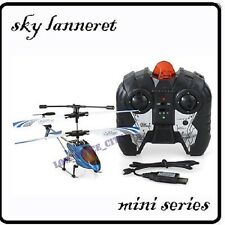 GYRO Metal 3.5Ch Mini Sky Lanneret RC Helicopter 19cm