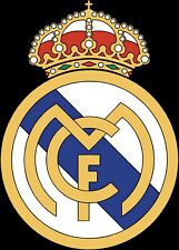 Real Madrid Futbol Soccer Decal / Sticker 5 Sizes!!