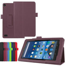Leather Case Stand Cover For Amazon Kindle Fire HD 7 2015 Tablet