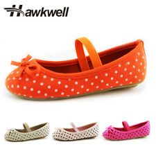 Hawkwell Mary Jane Shoes Toddler Girls Flats Kids Ballet Polka Dot Cute Bow
