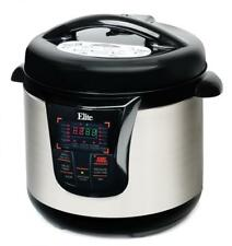 Elite Platinum by Maxi-Matic 8 Qt. Electric Pressure Cooker - Stainless Steel