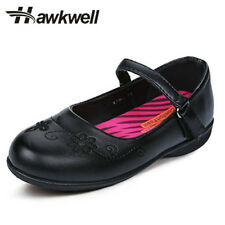 Girl black Mary Jane school Shoe uniform students footwear girls Classic Floral