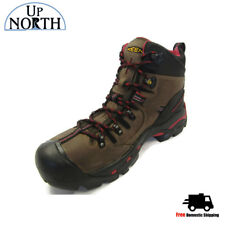 Keen Mens Work Boot Pittsburgh Steel Toe  (1007024) Bison WP NEW! FREE SHIPPING!