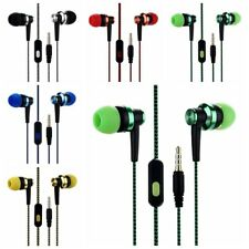 3.5mm In-Ear Stereo Headphone Earbuds Earphone Headset With Mic for iPhone MP3