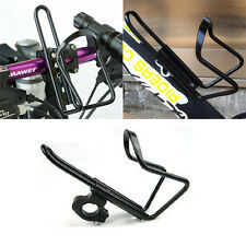 Cycling Bike Bicycle Aluminum alloy Handlebar Water Bottle Holder Cages +adapter