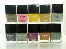 BUTTER LONDON 3 FREE NAIL LACQUER-VERNIS POLISH YOU PICK COLOR