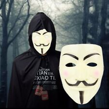 Cosplay Mask V For Vendetta Mask Anonymous Movie Guy Fawkes Halloween Masquerade