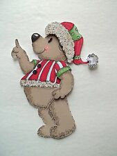 3D - U Pick - XM26 Christmas Santa Bear Snowman Card Scrapbook Embellishment