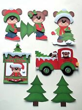 3D-U Pick-XM22 Making Card Decorate Christmas Tree Card Scrapbook Embellishment