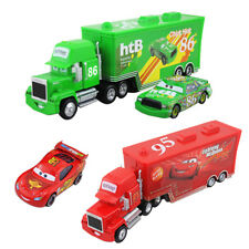 Disney Pixar Cars Toy Cars1 Cars 2 Diecast NO. Mack Hauler Truck Kids Fun Gifts