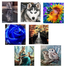Decorative 5D DIY Embroidery Diamond Painting Wall Poster Home Room Decor