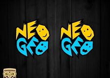 PEGATINA DECAL STICKER AUTOCOLLANT ADESIVI AUFKLEBER NEO GEO TEAM RETRO GAMES