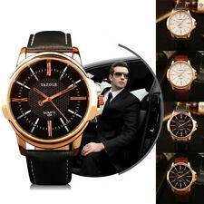 Men Luxury Office Wrist Watch Male Quartz Watch Golden Business Work Wristwatch