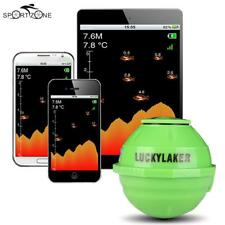 Lucky Wireless WiFi Sonar Fish Finder Detector For IOS Android + Car Charger