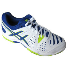 ASICS Mens Trainers Gel-Dedicate 4 White/Blue/Lime UK6 - UK8.5
