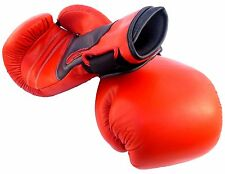 Boxing Gloves Pro Style Leather Bag Training Gloves Fight Punch Mitts MMA