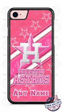 Houston Astros Pink Glitter Image Phone Case Cover for iPhone Samsung LG etc