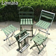 Lawaia Outdoor Folding Chairs Upgraded Camping Chair Fishing Stool Outdoor Tool