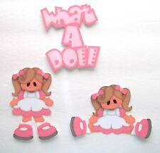 3D- U Pick -  Boy Girl Teddy Bear Doll Bunny Scrapbook Card Embellishment