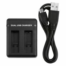 Dual Charging Slots USB Battery Charger With USB Cable For GoPro Hero 5/6 AU