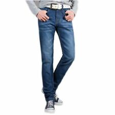 Zipper Fly Closure New Ripped Denim Material Plus Size Jeans For Men