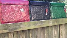 SALE! Beautiful Alexis David All Leather Made in Mexico Handbags Back Sleeve