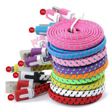 3/6/10FT Hemp Rope Braided Data Sync Charger Cable For iPhone 5 5S 6 6S 7 8 Plus