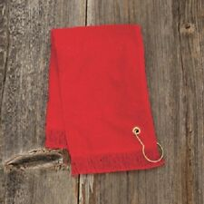 Anvil Fingertip Golf towel w/ grommet and hook, ***HAVE IT PERSONALIZED***