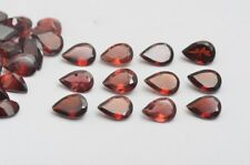 Natural Red Garnet Calibrated Size 3x4mm to 7x10mm Pear Cut Loose Gemstone