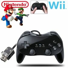 Classic Wired Gamepad Joypad Remote Pro Game Controller For Nintendo Wii & Wii U
