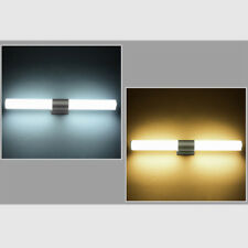 Modern LED Light Acrylic Front Mirror Toilet Bathroom Cabinet Sconce Wall Lamp