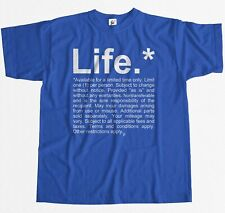 Disclaimer About Life - Terms & Conditions Apply Mens T-Shirt