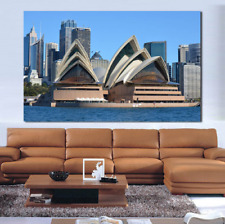1 Piece Sydney Opera House Oil Painting On Canvas Print Home Decoration