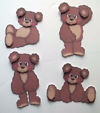 3D - U Pick - Ai1 Bear Koala Polar Panda Animals Card Scrapbook Embellishment