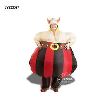 Viking Costume Inflatable Blowup Suit for Women Men Party Carnival Cosplay Dress
