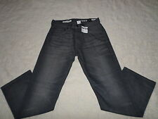 GAP 1969 JEANS MENS RELAXED SIZE 28X30 ZIP FLY DARK GREY COLOR NEW WITH TAGS