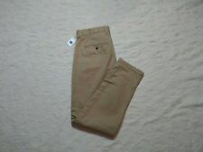 GAP DENSE TWILL PLEATED TROUSER PANTS MENS SIZE 32X32 NEW BRITISH KHAKI NEW NWT