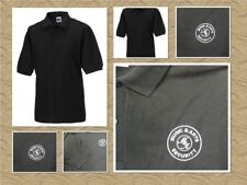 Music & Arts Security Russell 539M Black Men's Polo Shirt Classic Sizes 2XL-4XL