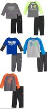 New Under Armour Baby Boys' Tee and Pants Set 12M, 18M, and 24M  MSRP $34.99