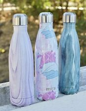 Vacuum Insulated Hot Cold Travel Water Bottle  Double Walled Stainless Steel