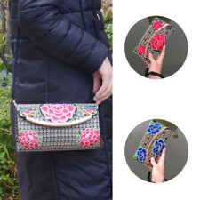 Lady Wallet Change Coin Bag Clutch Purse Handbag Retro Embroidered Women Wallet