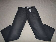 GAP 1969 JEANS MENS RELAXED SIZE 29X30 ZIP FLY DARK GREY COLOR NEW WITH TAGS